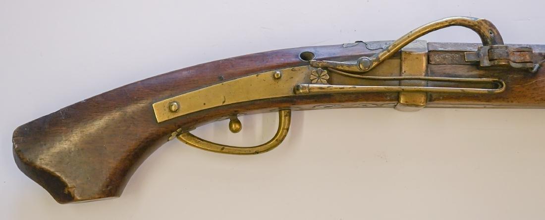 An Antique Japanese Gun