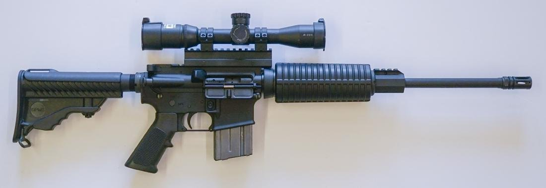 DPMS A-15 Semi-Auto Rifle with Nikon M-223 Scope