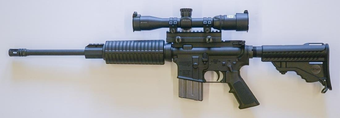 DPMS A-15 Semi-Auto Rifle with Nikon M-223 Scope - 2