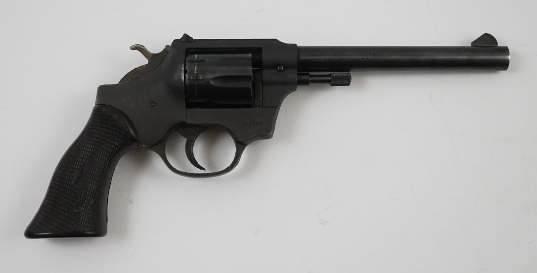 High Standard .22 Revolver