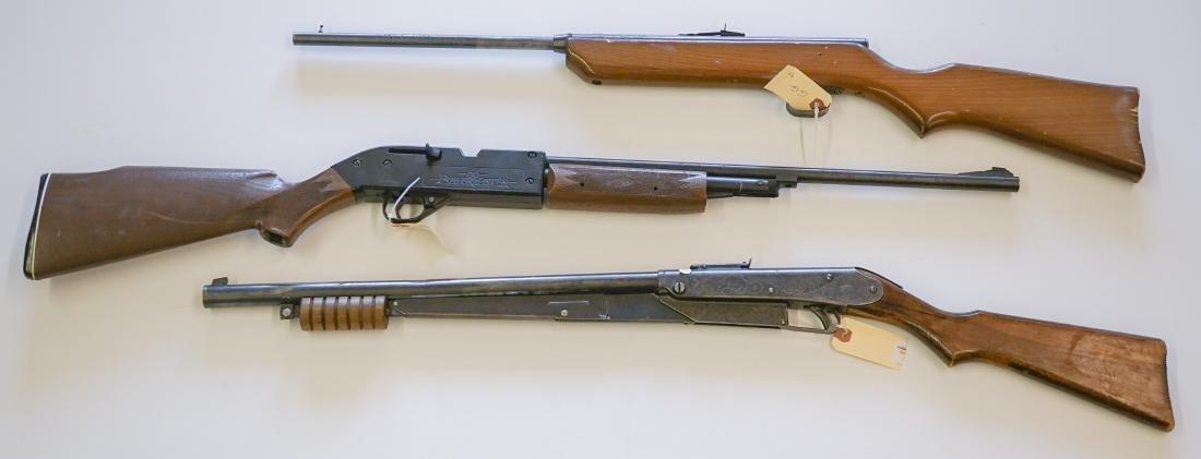 Three Air Rifles