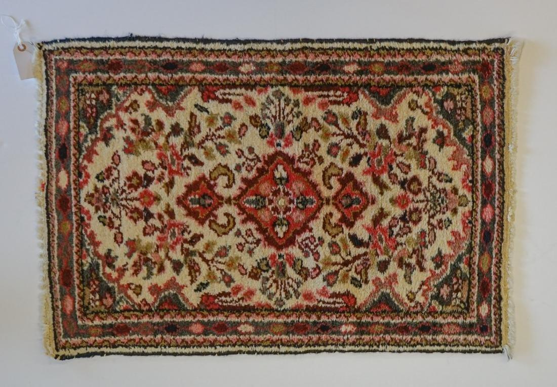 Estate Rug: Small Vintage Iranian Handmade Mat