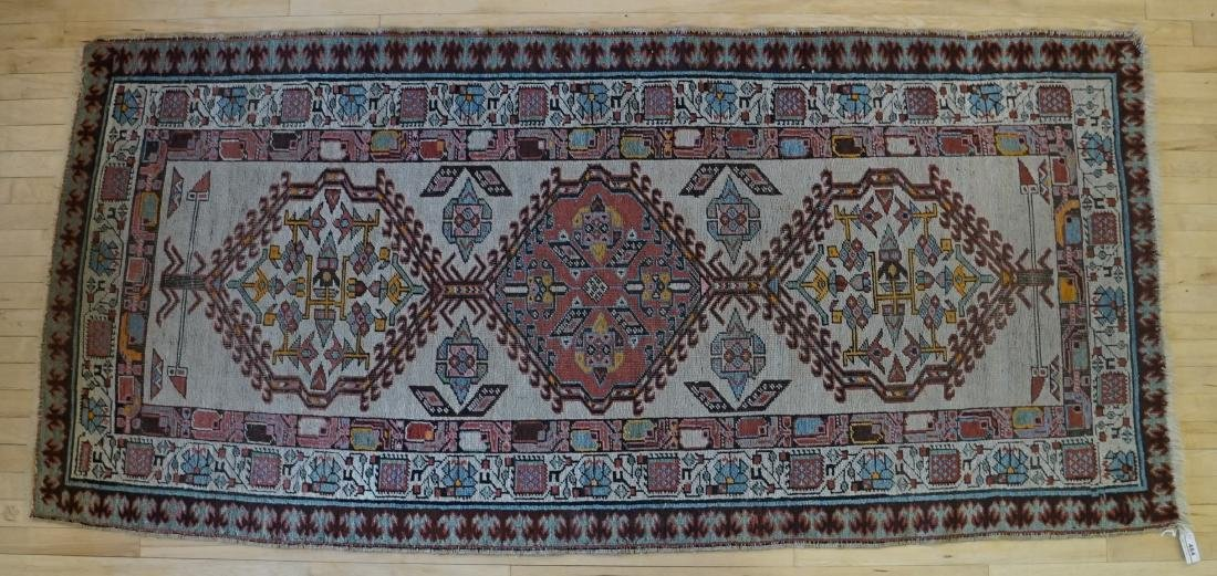Estate Rug: An Old Handmade Oriental Rug