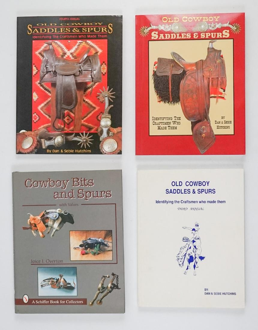 Books on Saddles, Bits and Spurs