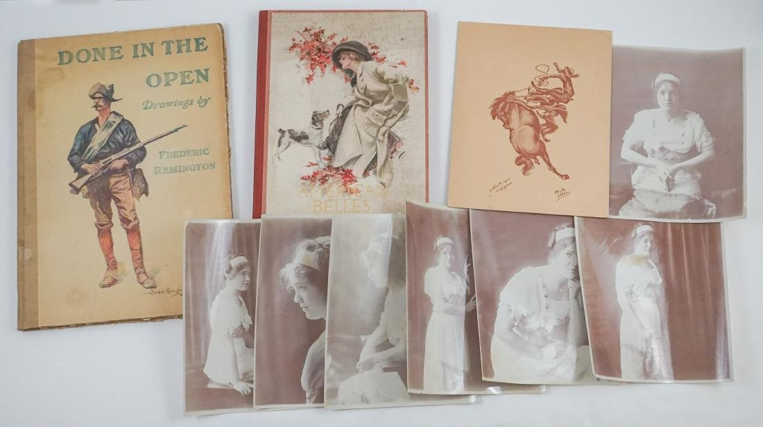 Two Illustrated Art Books, Remington and Fisher