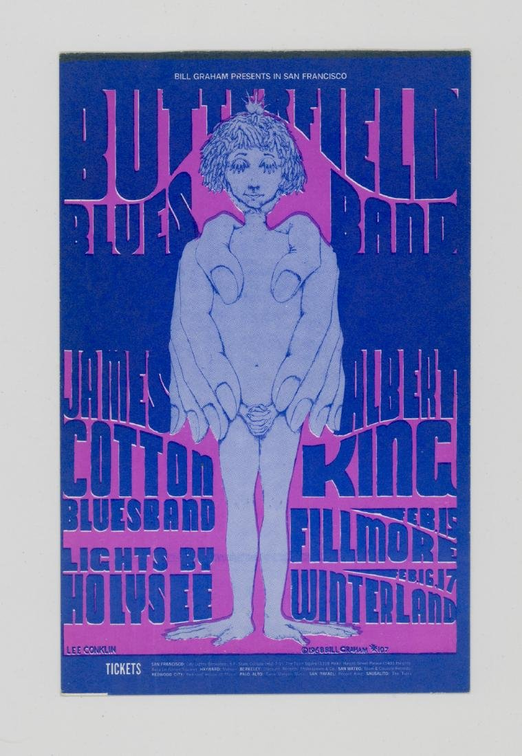 Bill Graham Presents Original Postcards, Handbills - 10