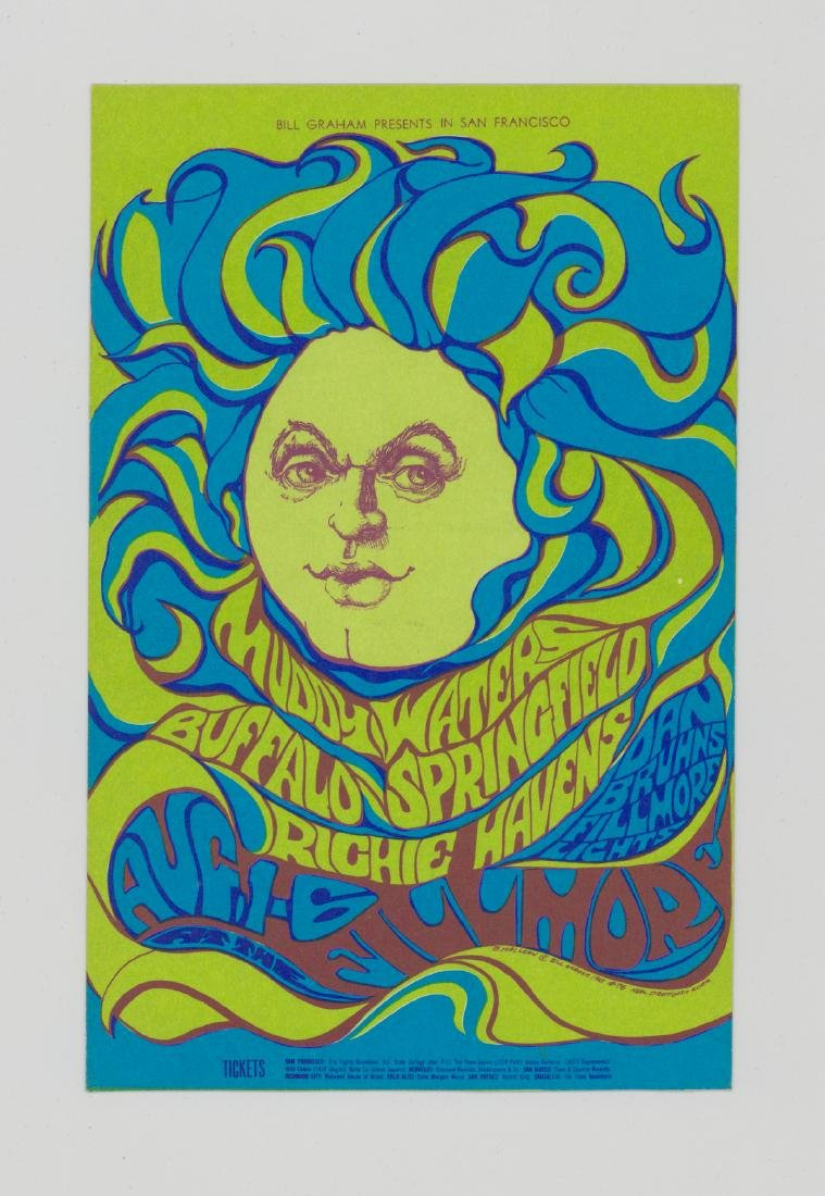 Bill Graham Presents Original Postcards, Handbills - 5