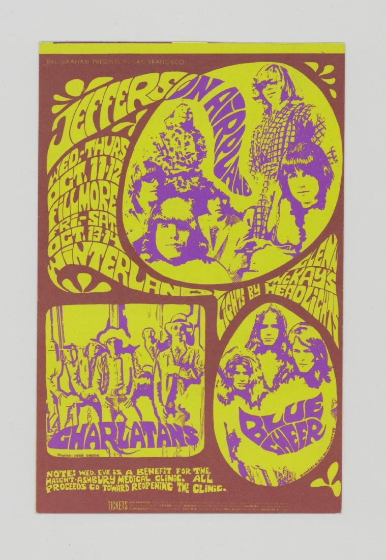Bill Graham Presents Original Postcards, Handbills - 6