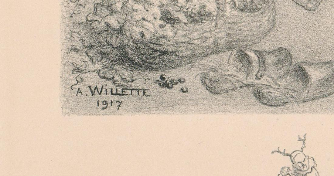 Adolphe Willette (1857 - 1926) Lithograph - 4