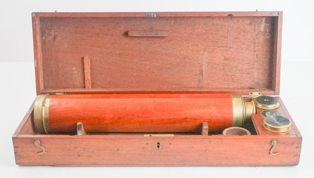 Gilbert & Sons Antique Brass Telescope