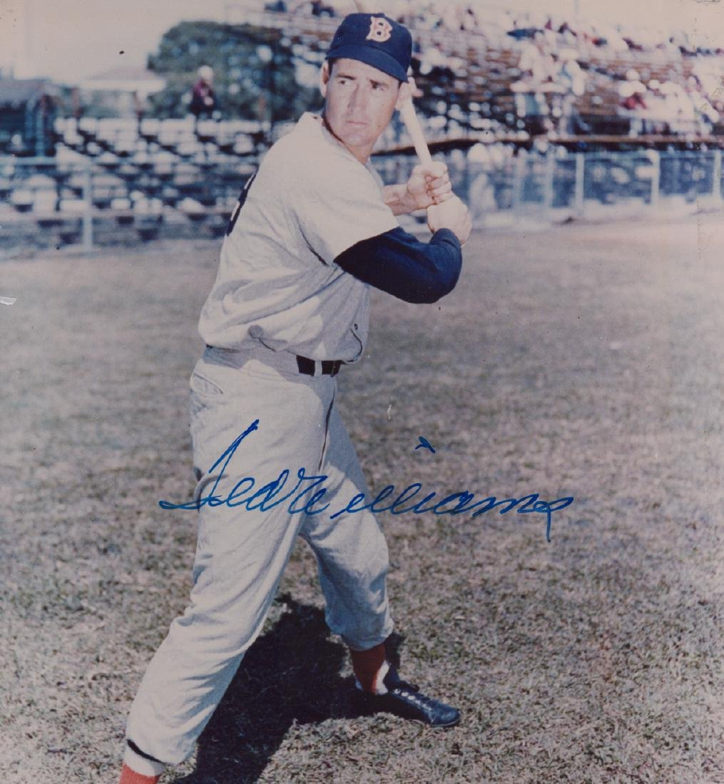Ted Williams Signed Photo PSA/DNA