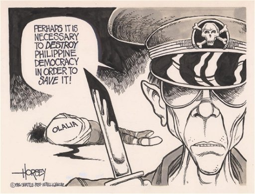David Horsey Original Political Cartoon - Sep 13, 2018