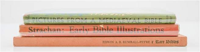 Two Biblical Illustration Books by Strachan plus