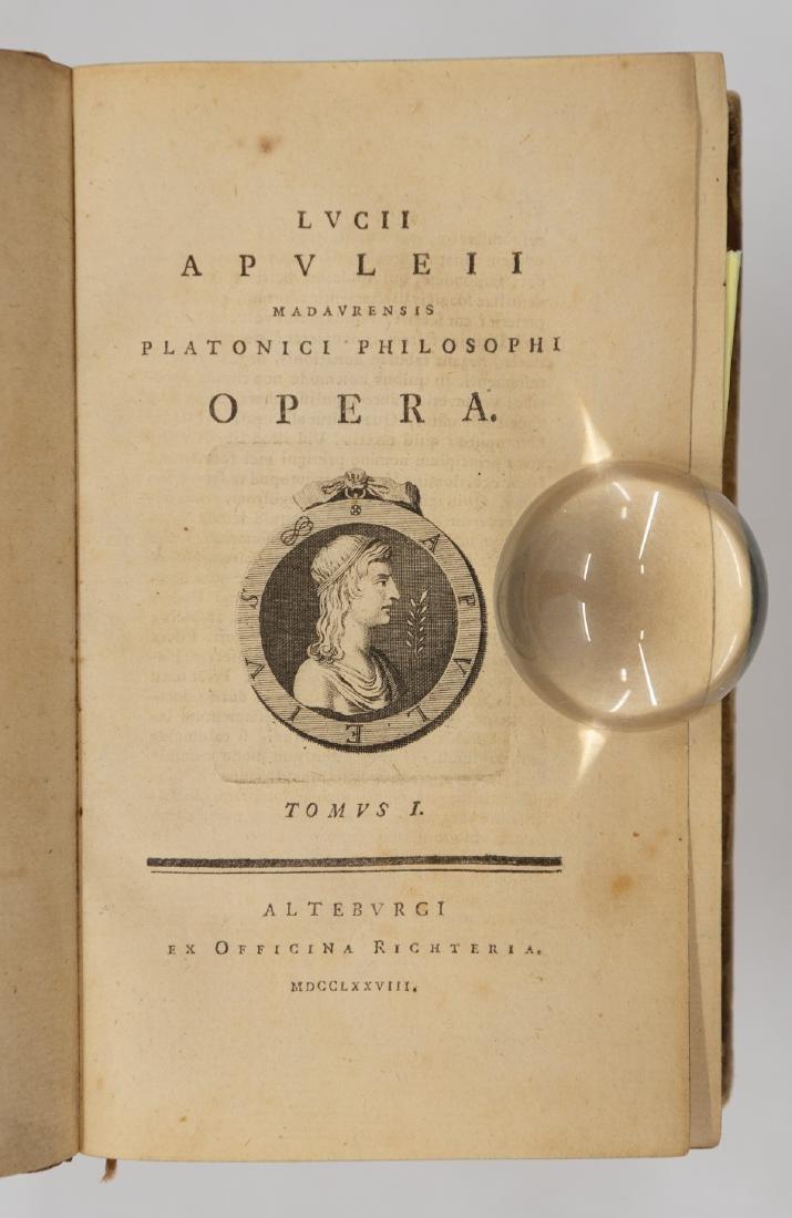 Lucii Apuleii … Platonici Philosophi Opera - Latin - 3