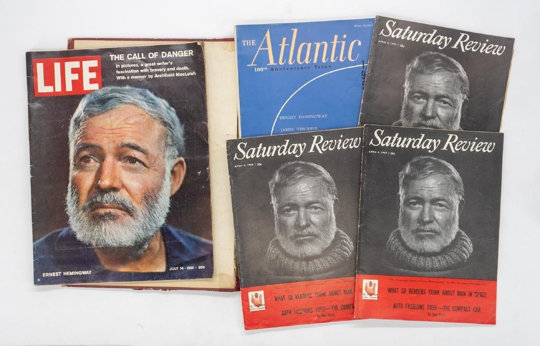 5 Magazines Featuring Ernest Hemingway