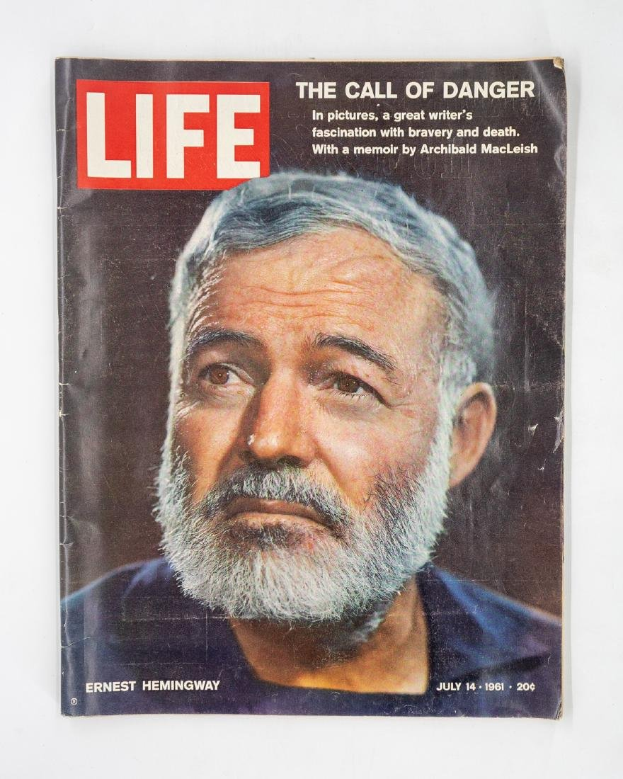 5 Magazines Featuring Ernest Hemingway - 2