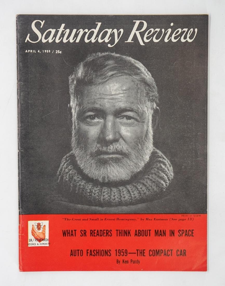 5 Magazines Featuring Ernest Hemingway - 3