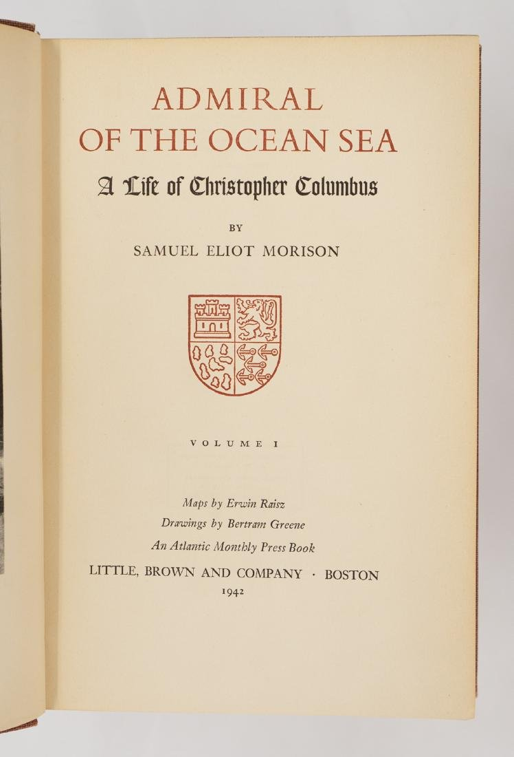 Admiral of the Ocean Sea 1942 First Ed. (2V) - 3