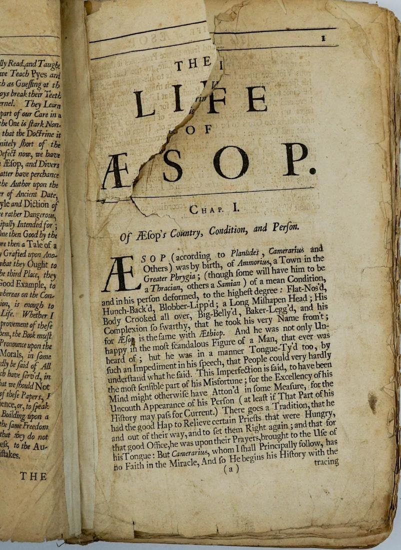 Fables of Aesop 1699 - 5