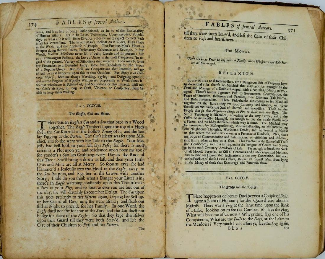 Fables of Aesop 1699 - 8
