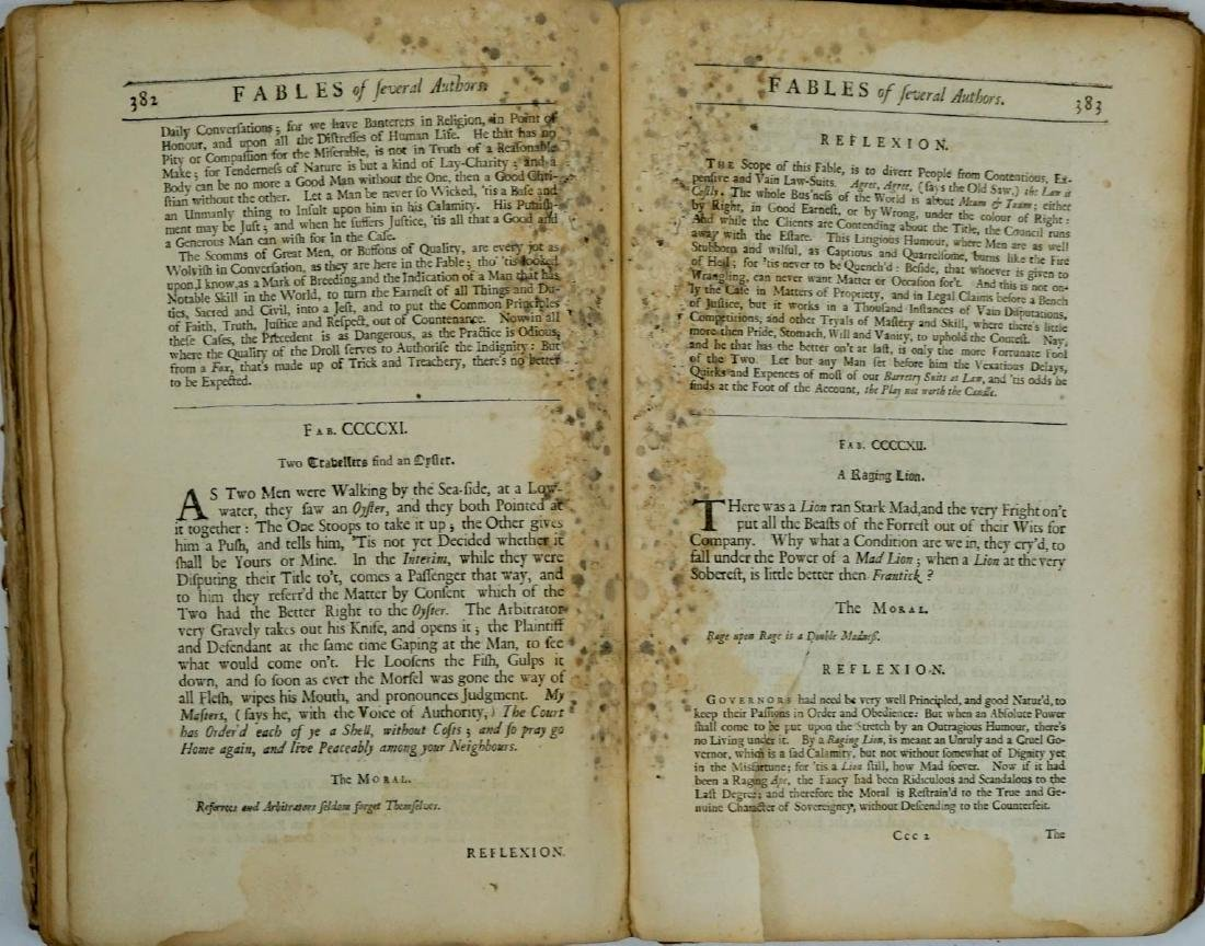 Fables of Aesop 1699 - 9