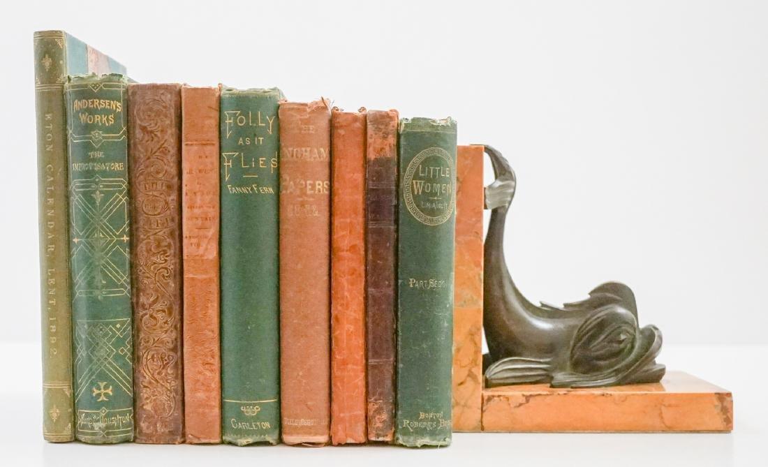 Group of Ten 19th Century Books