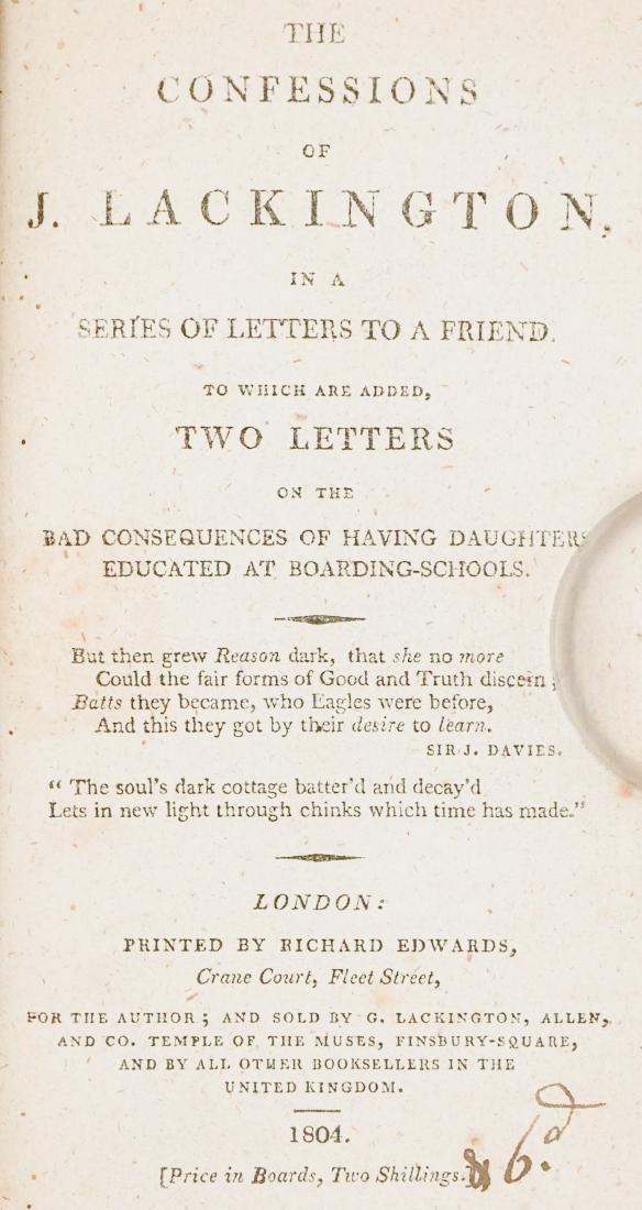 Group of Ten 19th Century Books - 7