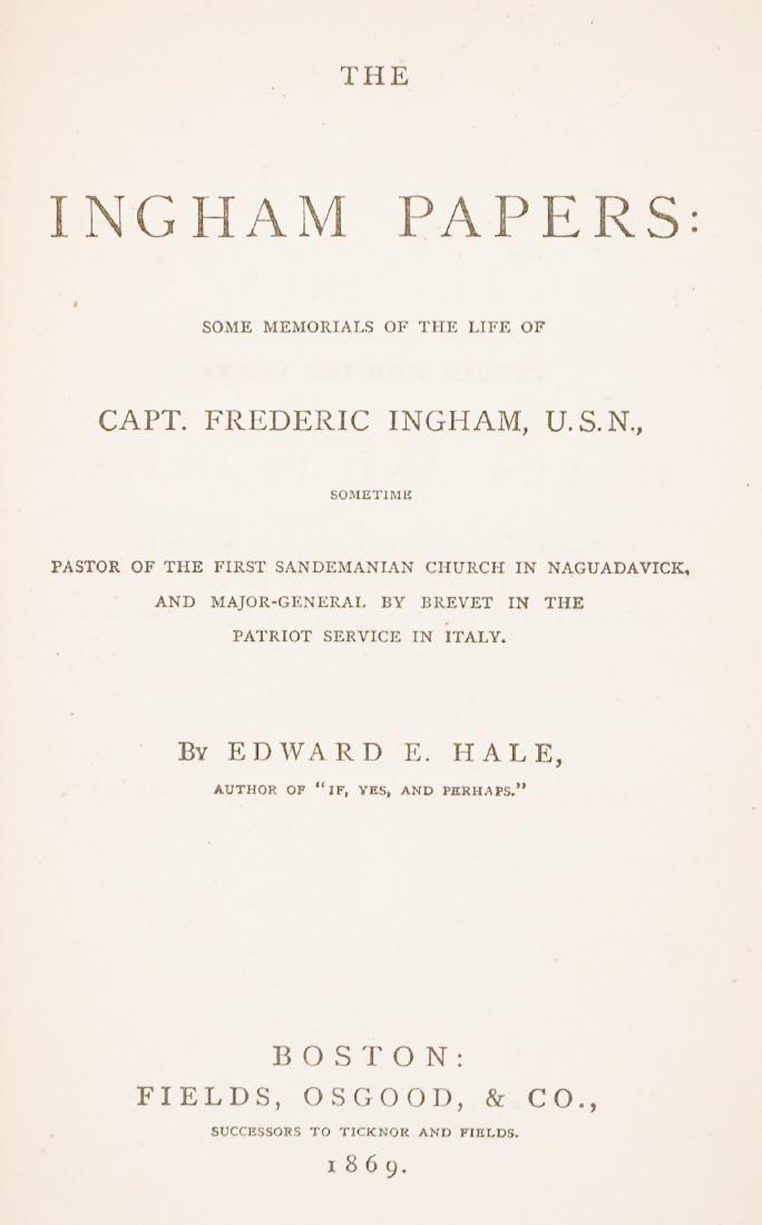 Group of Ten 19th Century Books - 9