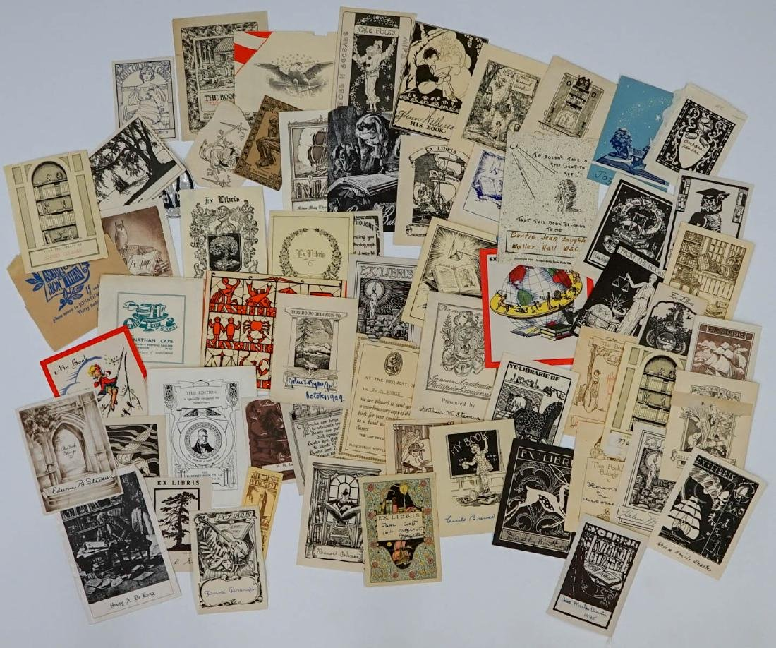 Group of over 50 Bookplates