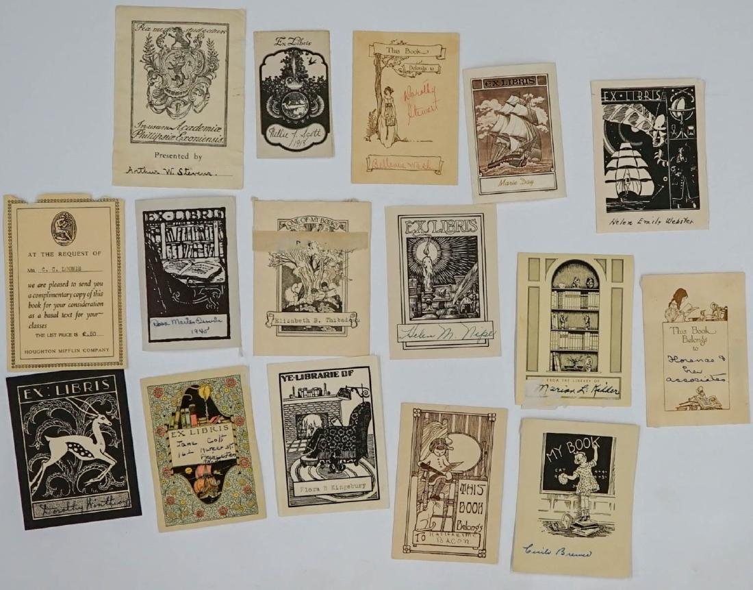Group of over 50 Bookplates - 3
