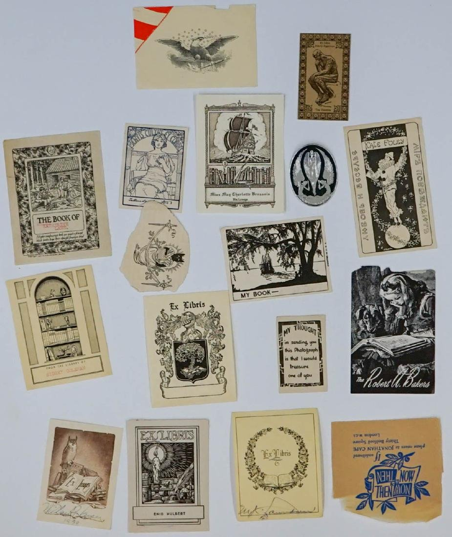 Group of over 50 Bookplates - 4