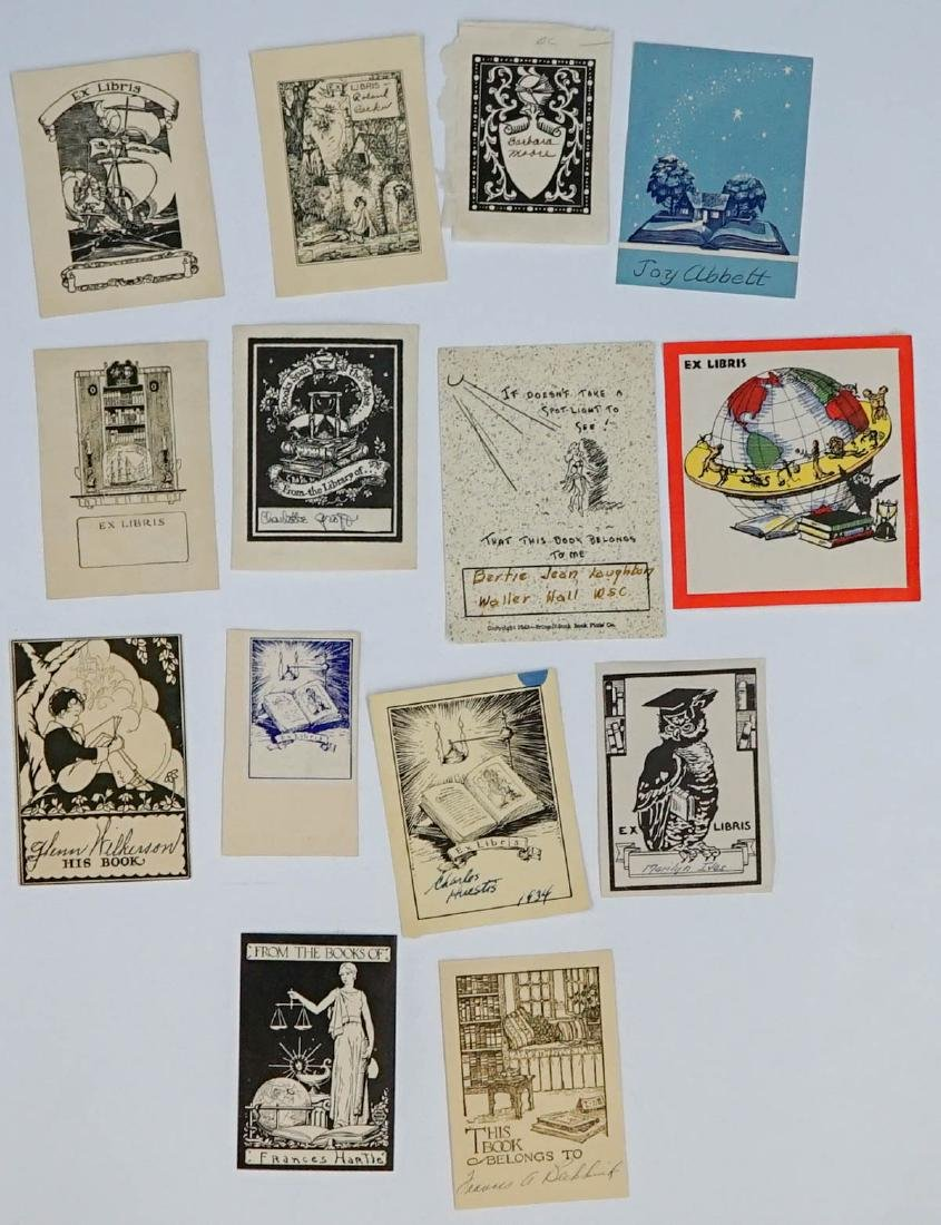 Group of over 50 Bookplates - 5