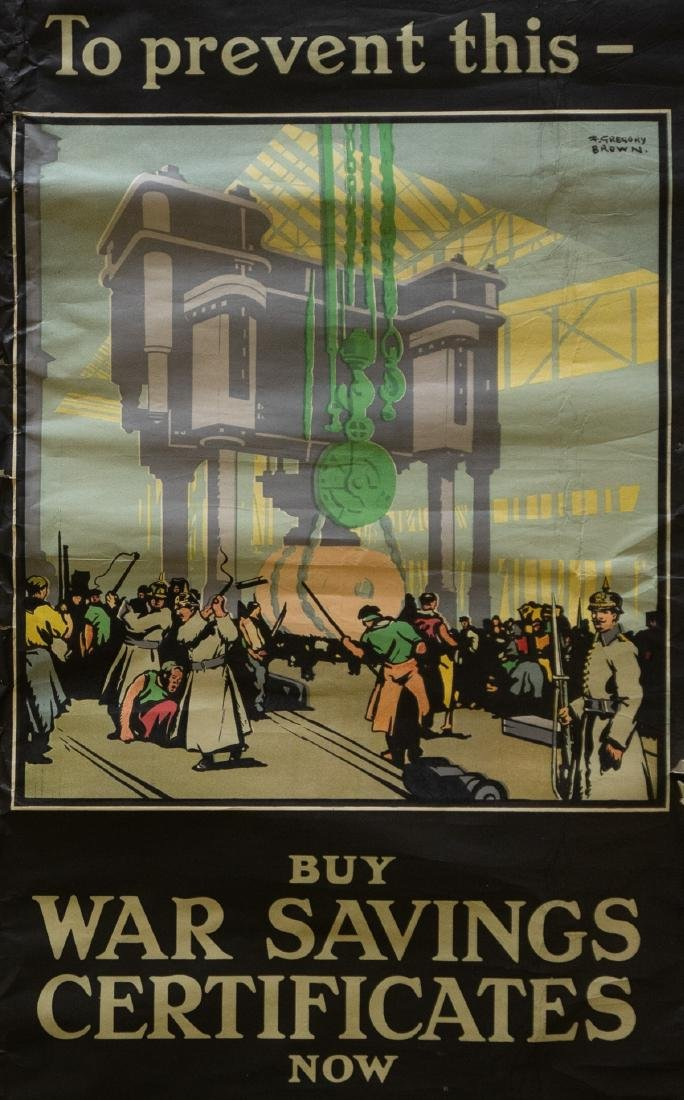 F. Gregory Brown WWI Poster
