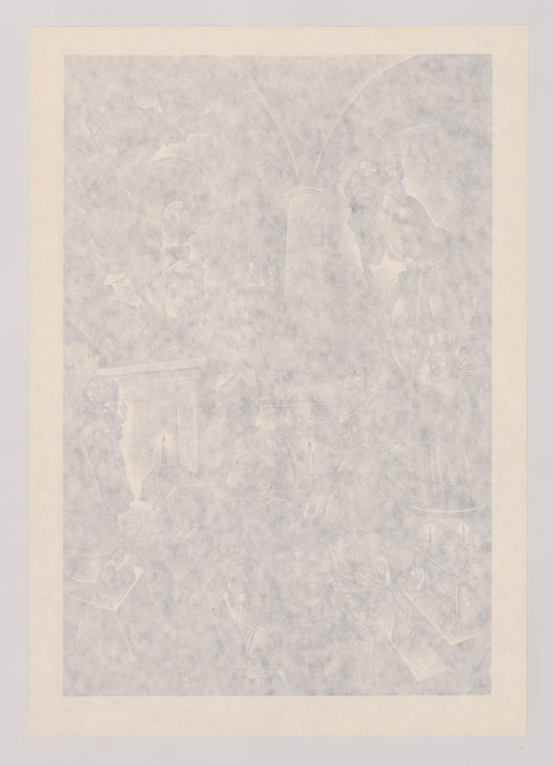 Fritz Eichenberg Woodcut - 4