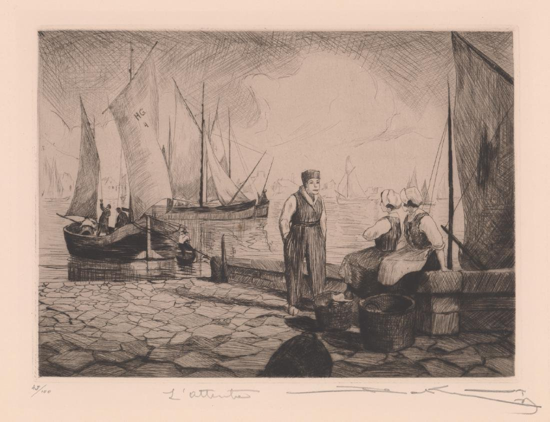 A Fine Signed Etching