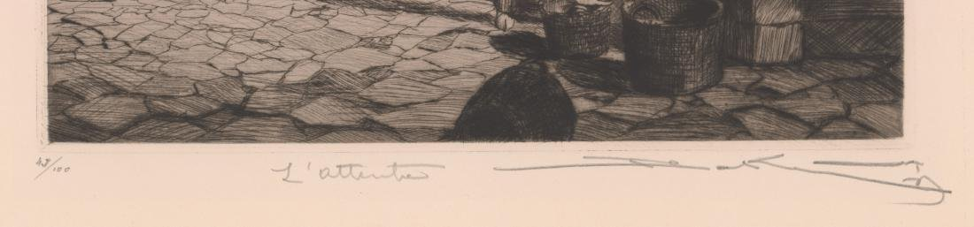 A Fine Signed Etching - 3