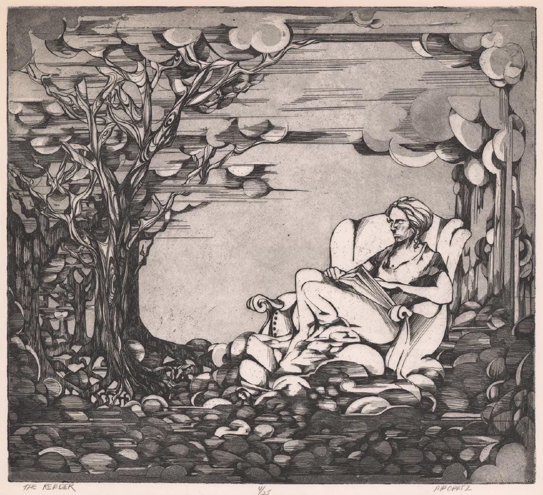 Mary Pat Opatz Herges Etching