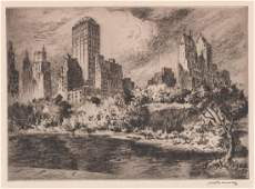 Nat Lowell Etching