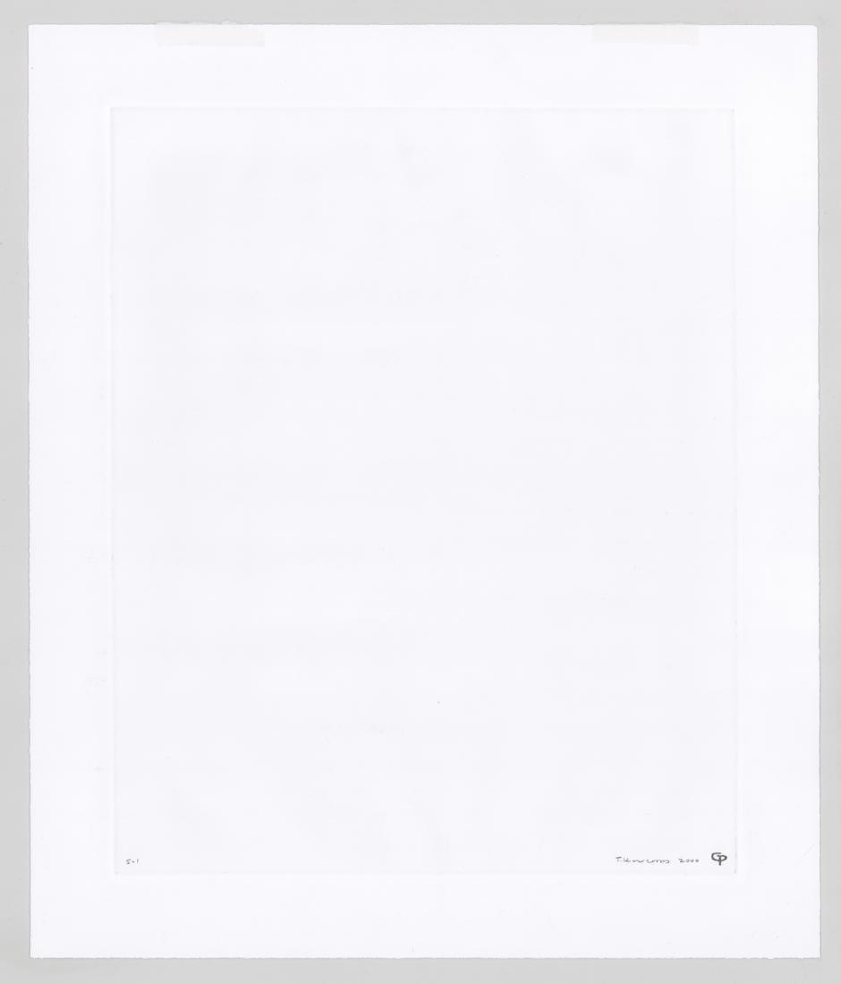 Ted Kincaid Monoprint - 3