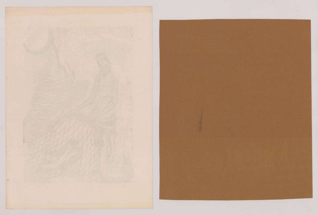 Four Original Woodcut Prints, Various Artists - 5