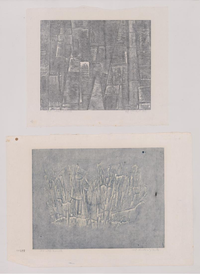 Four Bernard A. Kohn Original Signed Prints - 5