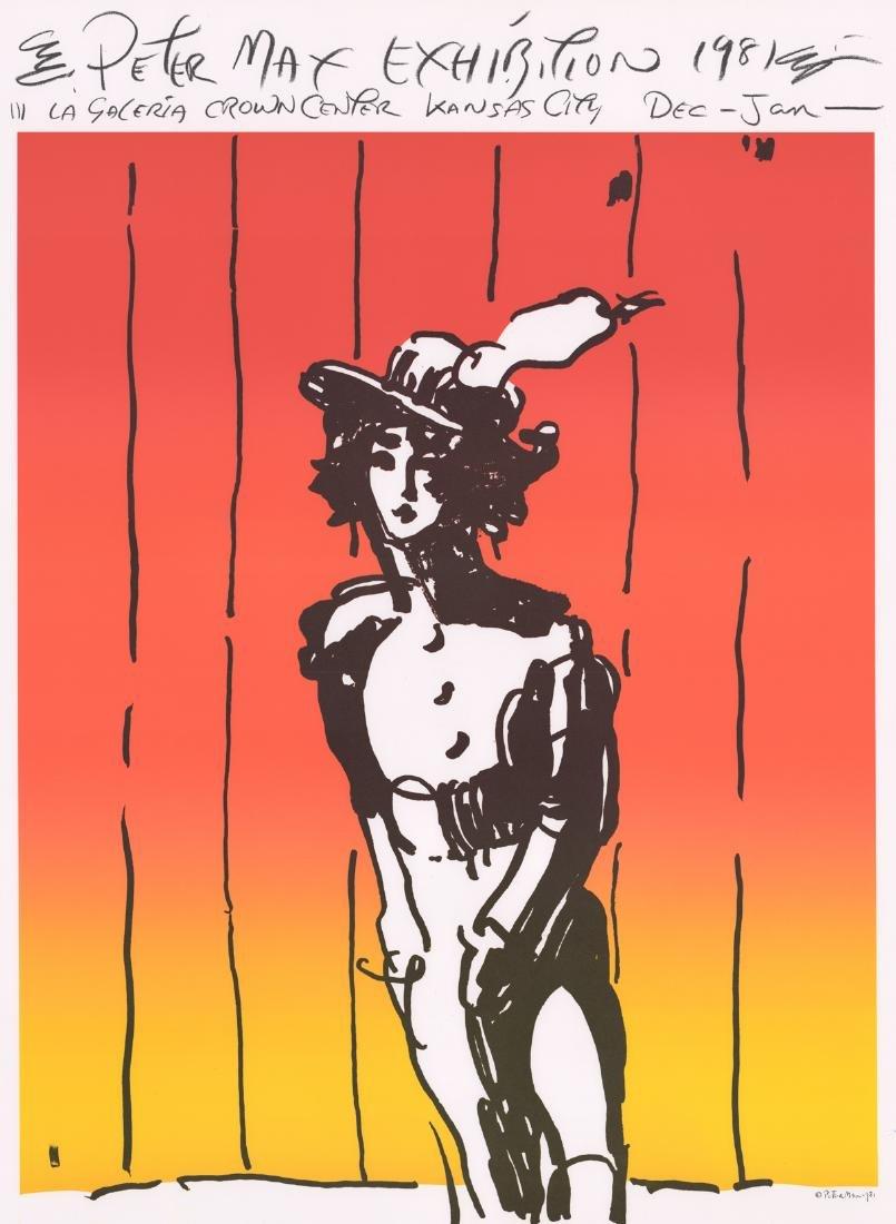 Peter Max Original Exhibition Poster