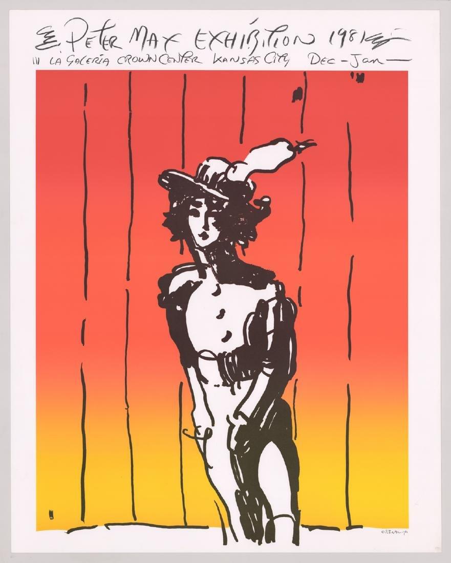 Peter Max Original Exhibition Poster - 2