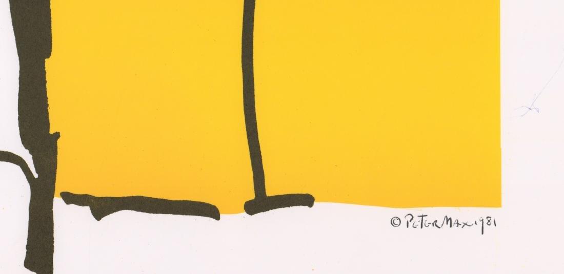 Peter Max Original Exhibition Poster - 3