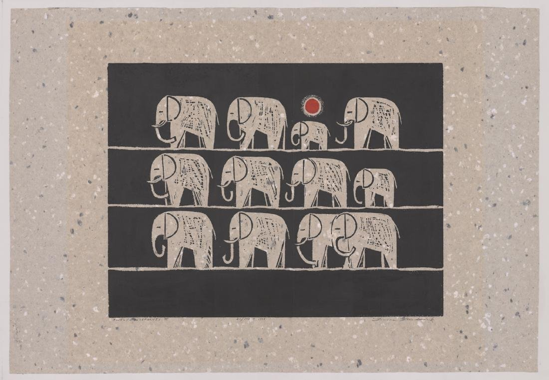Linnea Lundmark Original Woodblock Print - 2