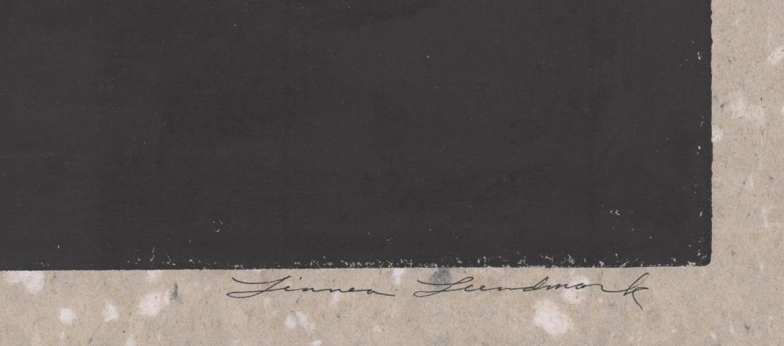 Linnea Lundmark Original Woodblock Print - 3