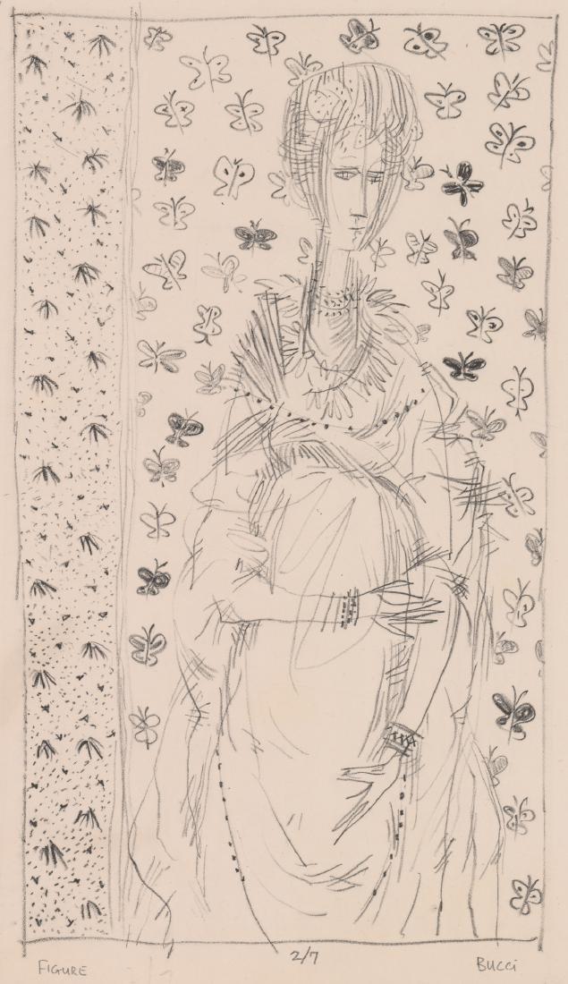 Andrew Bucci Original Lithograph
