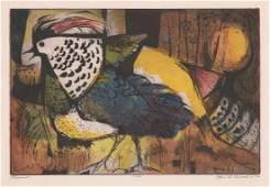 Paul Beaver Arnold Original Colored Etching