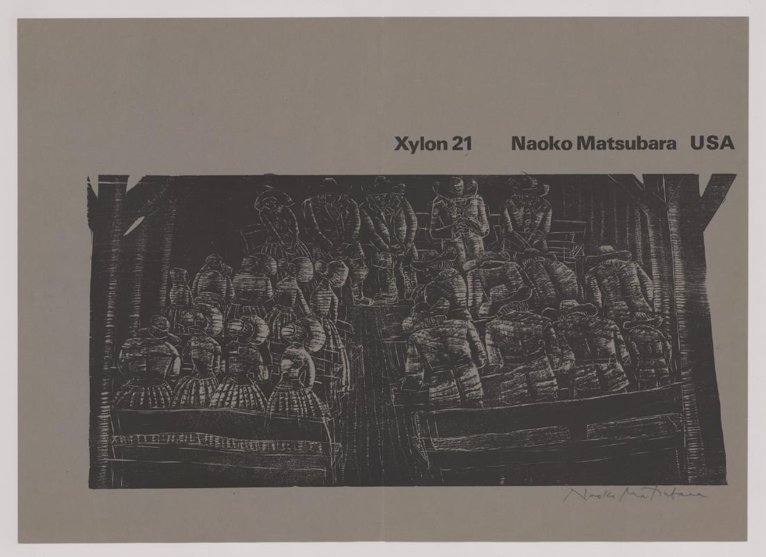 Naoko Matsubara Original Woodblock Print Portfolio