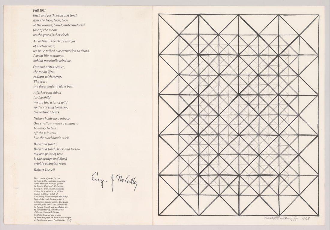 Richard Anuszkiewicz Original Lithograph - 2